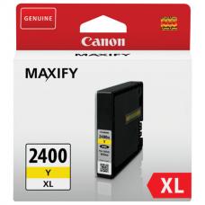 Картридж струйный CANON (PGI-2400XLY) iB4040/MB5040/MB5340, желтый, оригинальный, ресурс 1500 стр., 9276B001