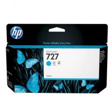 Картридж струйный для плоттера HP (B3P19A) Designjet T920/1500, №727, голубой, 130 мл, оригинальный