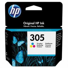 Картридж струйный HP (3YM60AE) 305 для HP DJ 2320/2720/4120, трехцветный, оригинальный, ресурс 100 страниц