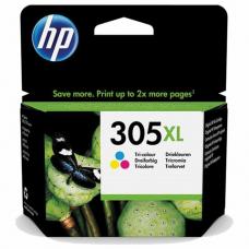 Картридж струйный HP (3YM63AE) 305XL для HP DJ 2320/2720/4120, трехцветный, оригинальный, ресурс 200 страниц