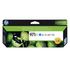 Картридж струйный HP (CN626AE) OfficeJet Pro X576/476/451/551, №971XL, голубой, оригинальный, ресурс 6600 страниц