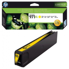Картридж струйный HP (CN628AE) OfficeJet Pro X576/476/451/551, №971XL, желтый, оригинальный, ресурс 6600 страниц
