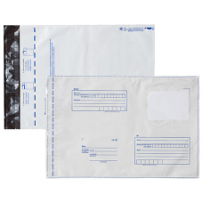 Конверт-пакеты ПОЛИЭТИЛЕН С4 (229х324 мм) до 160 л., отрывная лента, 'Куда-Кому', КОМПЛЕКТ 1000 шт., 112199