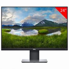 Монитор DELL P2421 24' (61 см), 1920x1200, 16:10, IPS, 5 ms, 300 cd, VGA, DVI, HDMI, DP, черный, 421-0773