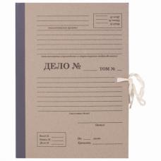 Папка архивная А4 'Форма 21', 120 мм, переплетный картон/бумвинил, завязки, до 1200 л, STAFF, 112168