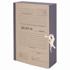 Папка архивная А4 'Форма 21', 80 мм, переплетный картон/бумвинил, завязки, до 800 л., STAFF, 112167