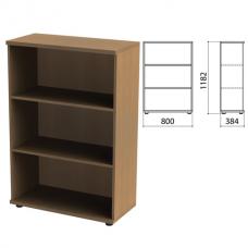 Шкаф (стеллаж) 'Этюд', 800х384х1182 мм, онтарио 160, 399995-160