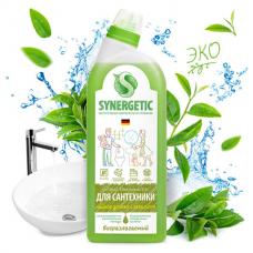 Средство для уборки туалета антибактериальное 700 мл SYNERGETIC 'Чайное дерево и эвкалипт', биоразлагаемое, 51020, 104071