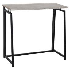 Стол на металлокаркасе BRABIX 'LOFT CD-001', 800х440х740 мм, складной, цвет дуб антик, 641210